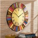 Multicolor Wall Clock