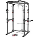 XMark Commercial Power Cage with Dip Station and Pull-up Bar