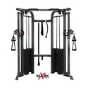 XMark Commercial Functional Trainer Cable Machine with Dual 200 lb Weight Stacks