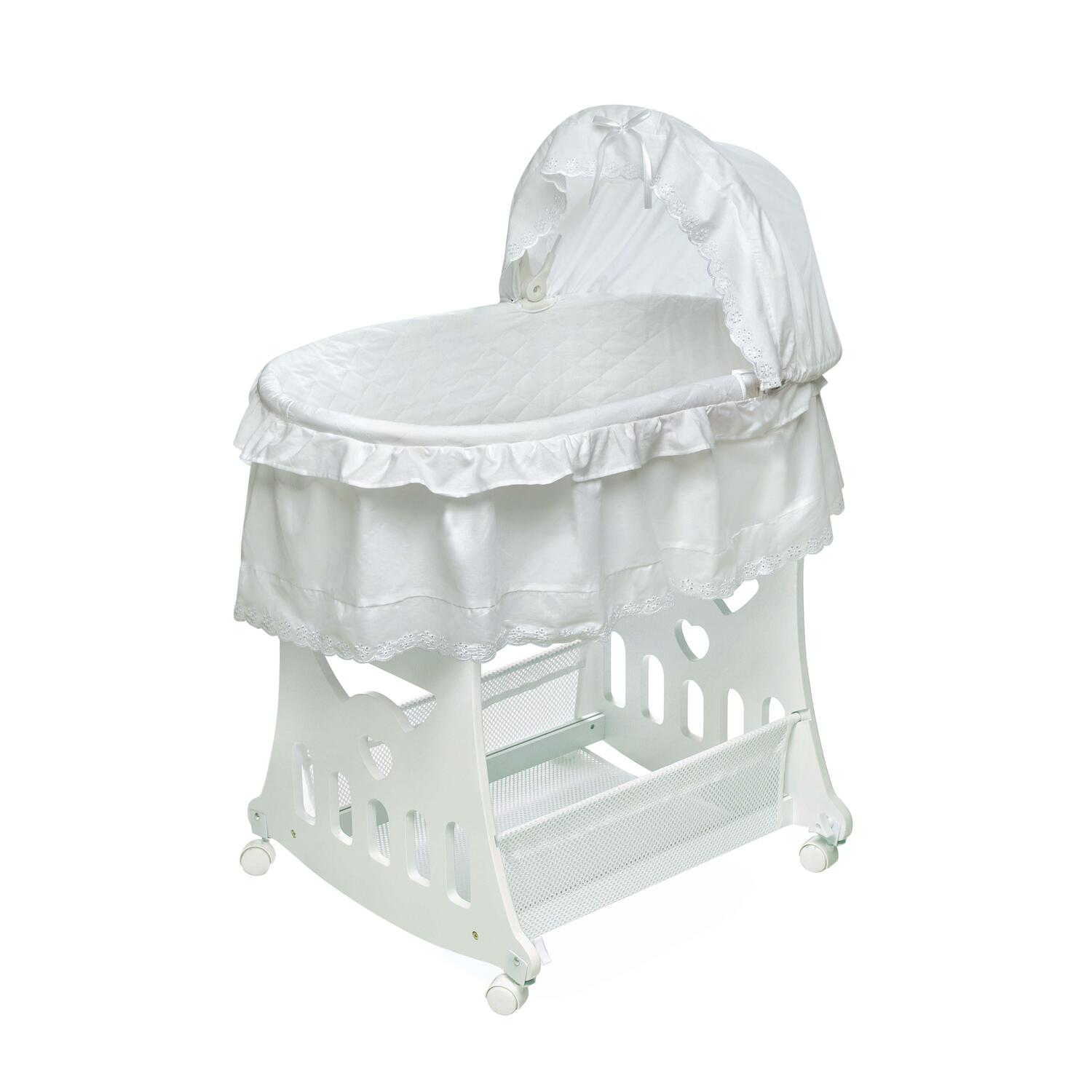 Portable Bassinet U0027N Cradle With Toybox Base   [00630]