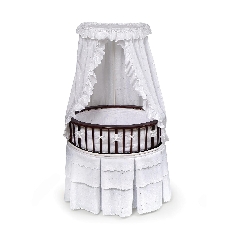 Elite oval baby bassinet ojcommerce for Baby bassinet