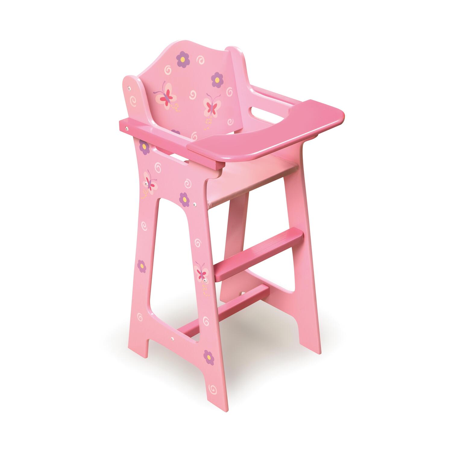 Blossoms Butterflies Doll Set High Chair With Bunk Bed