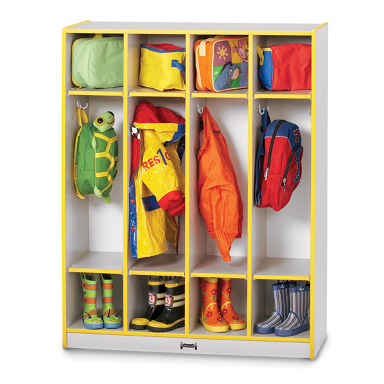 Jonti-craft Coat Locker - 4 Sections - [0268JCWW004]