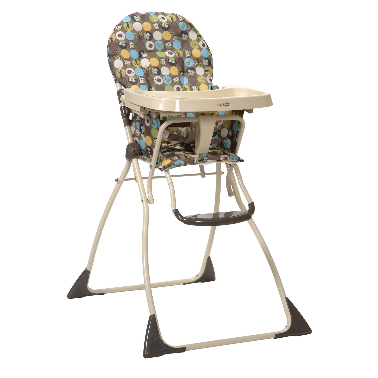Cosco 174 Flat Fold High Chair Into The Woods 66 54