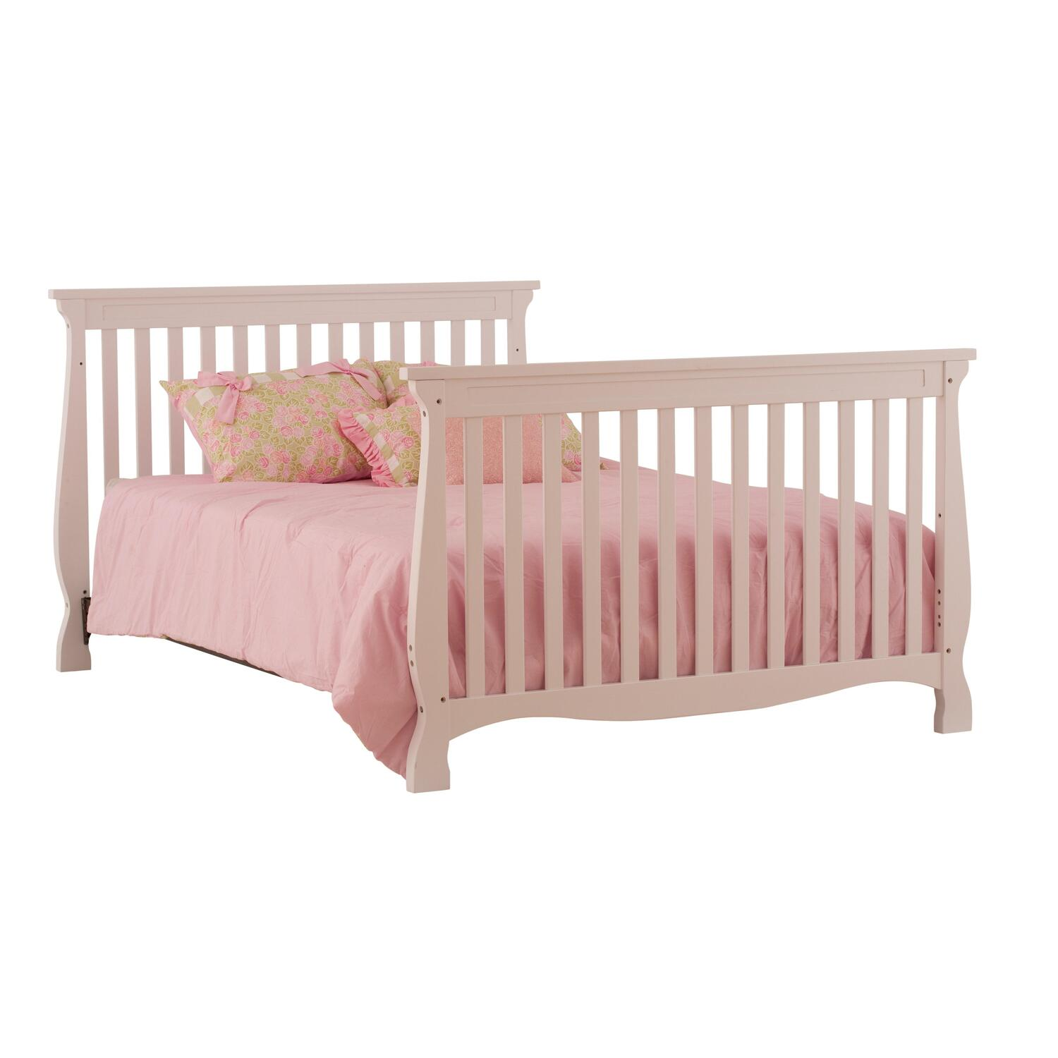 Stork Craft Carrara 4 In 1 Fixed Side Convertible Crib