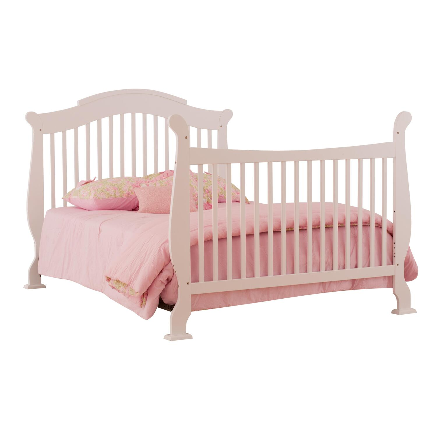 stork craft valentia fixed side convertible crib from to ojcommerce. Black Bedroom Furniture Sets. Home Design Ideas