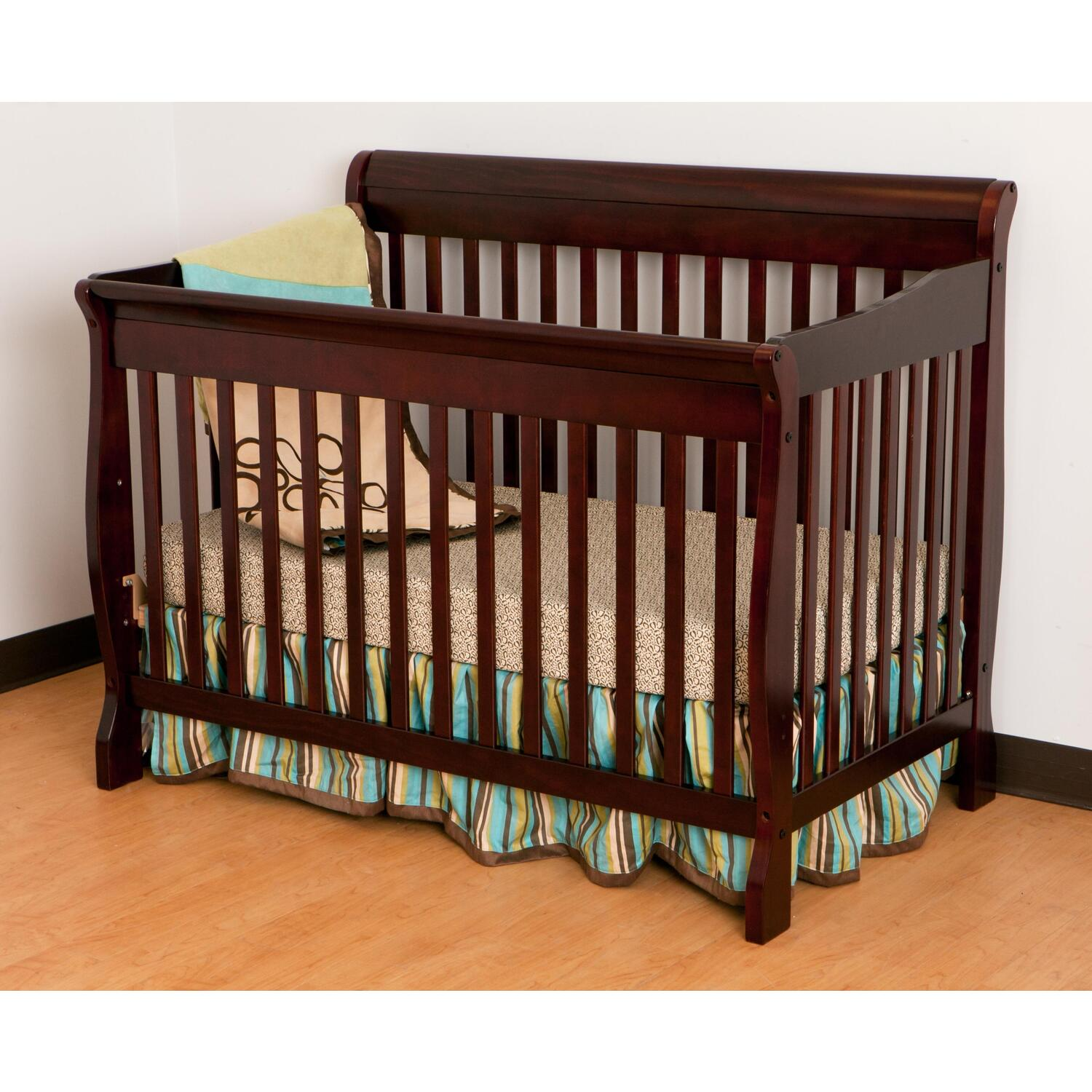 com cribs stork fixed from in tuscany manufacturer convertible side craft dp portofino amazon crib espresso the