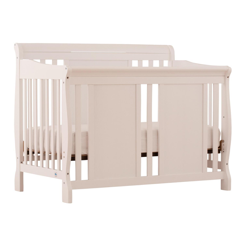 Stork Craft Verona 4 In 1 Fixed Side Convertible Crib   [04587 481]