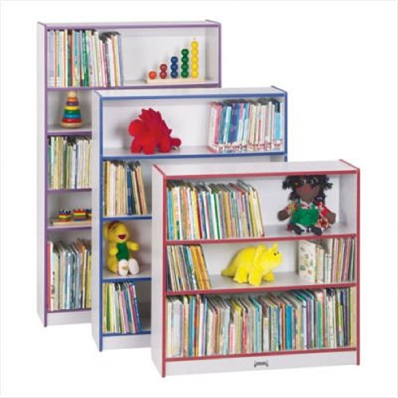 jonti craft bookcase 36 teal