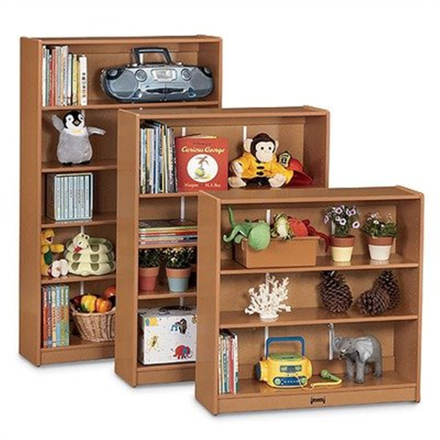 Rainbow Accents 0962JC112 Bookcase 60 In. High Navy