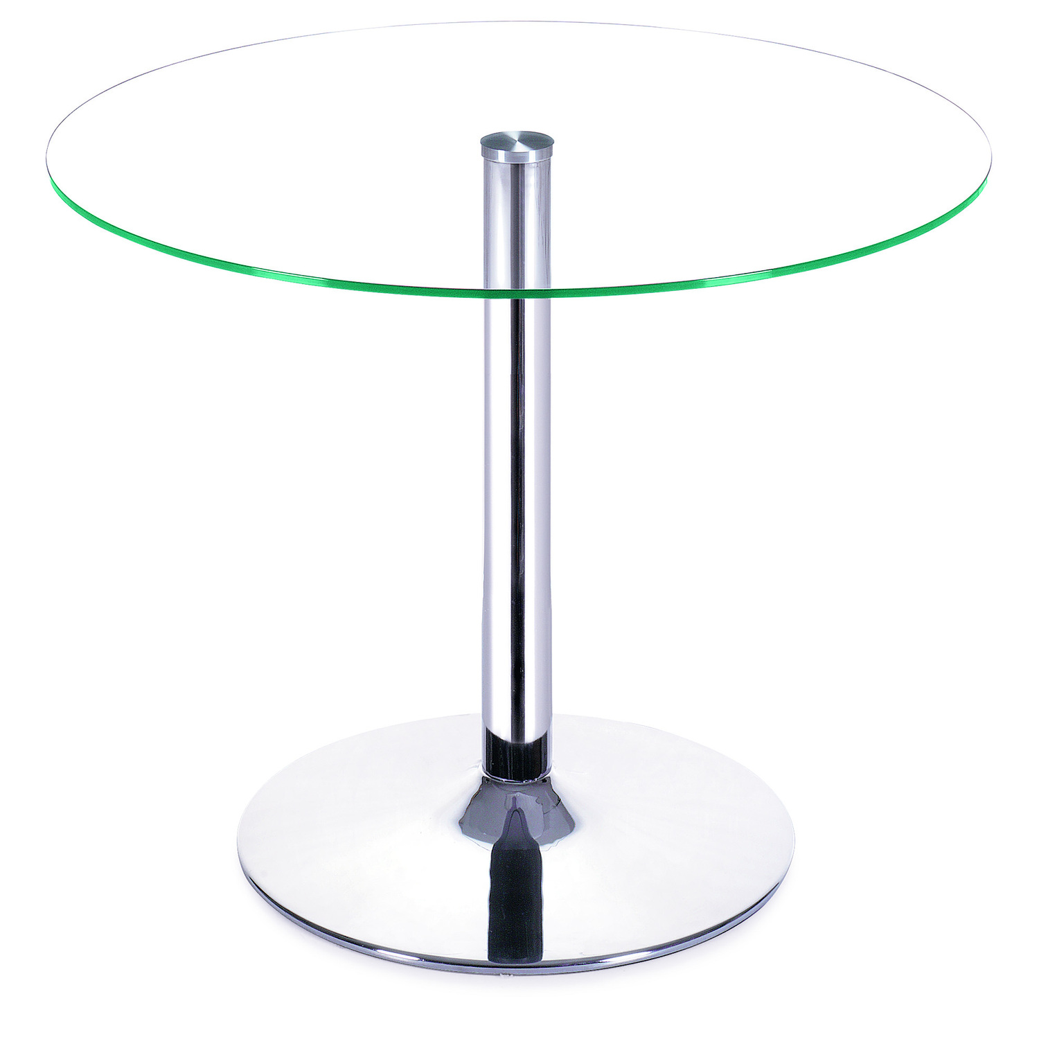 Galaxy Dining Table Tempered Glass Clear