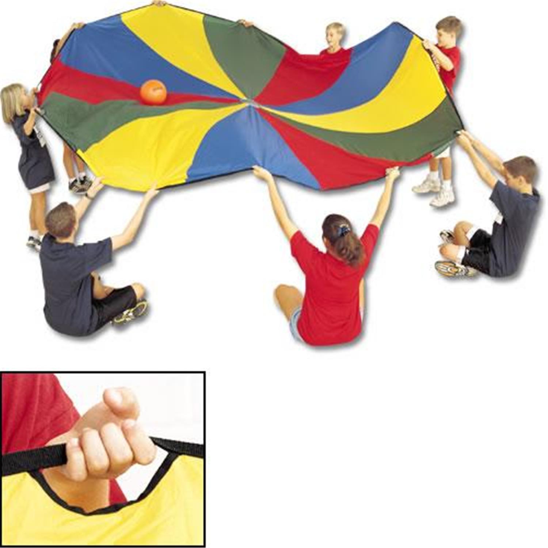 12' Parachute w/12 Handles - [1040012]