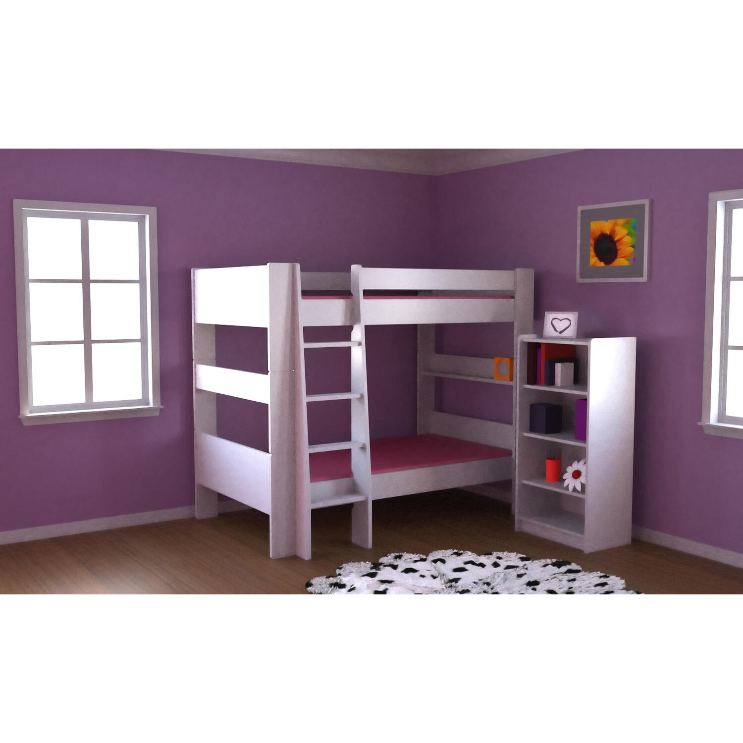 Popsicle Twin Bed Espresso
