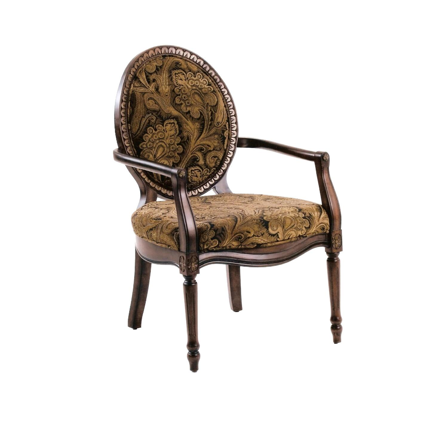 Madison victorian accent chair ojcommerce What is style