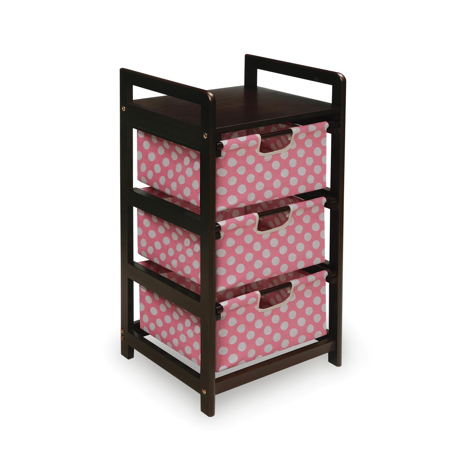 three drawer hamper storage unit ojcommerce. Black Bedroom Furniture Sets. Home Design Ideas