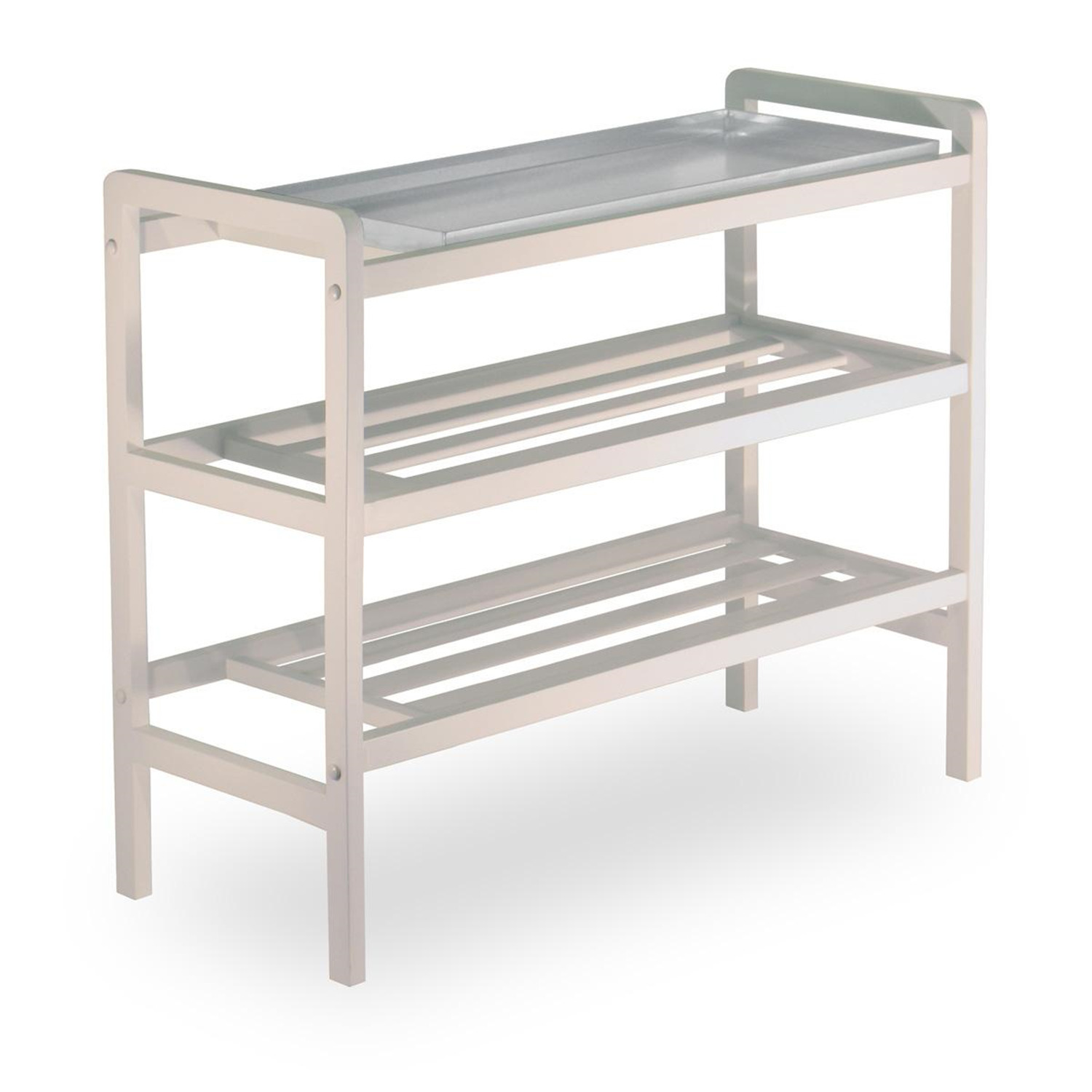 Mudroom Shoe Rack with Tray and shelf - [12633]  sc 1 st  OJ Commerce & Mudroom Shoe Rack with Tray and shelf - $75.78 | OJCommerce
