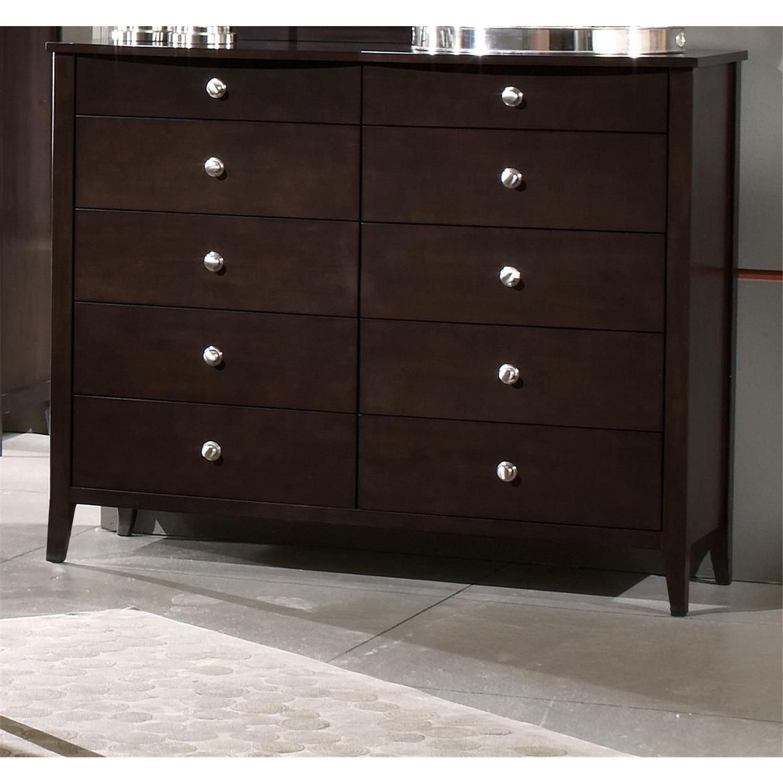 Espresso Tall Dresser 1418 711cw