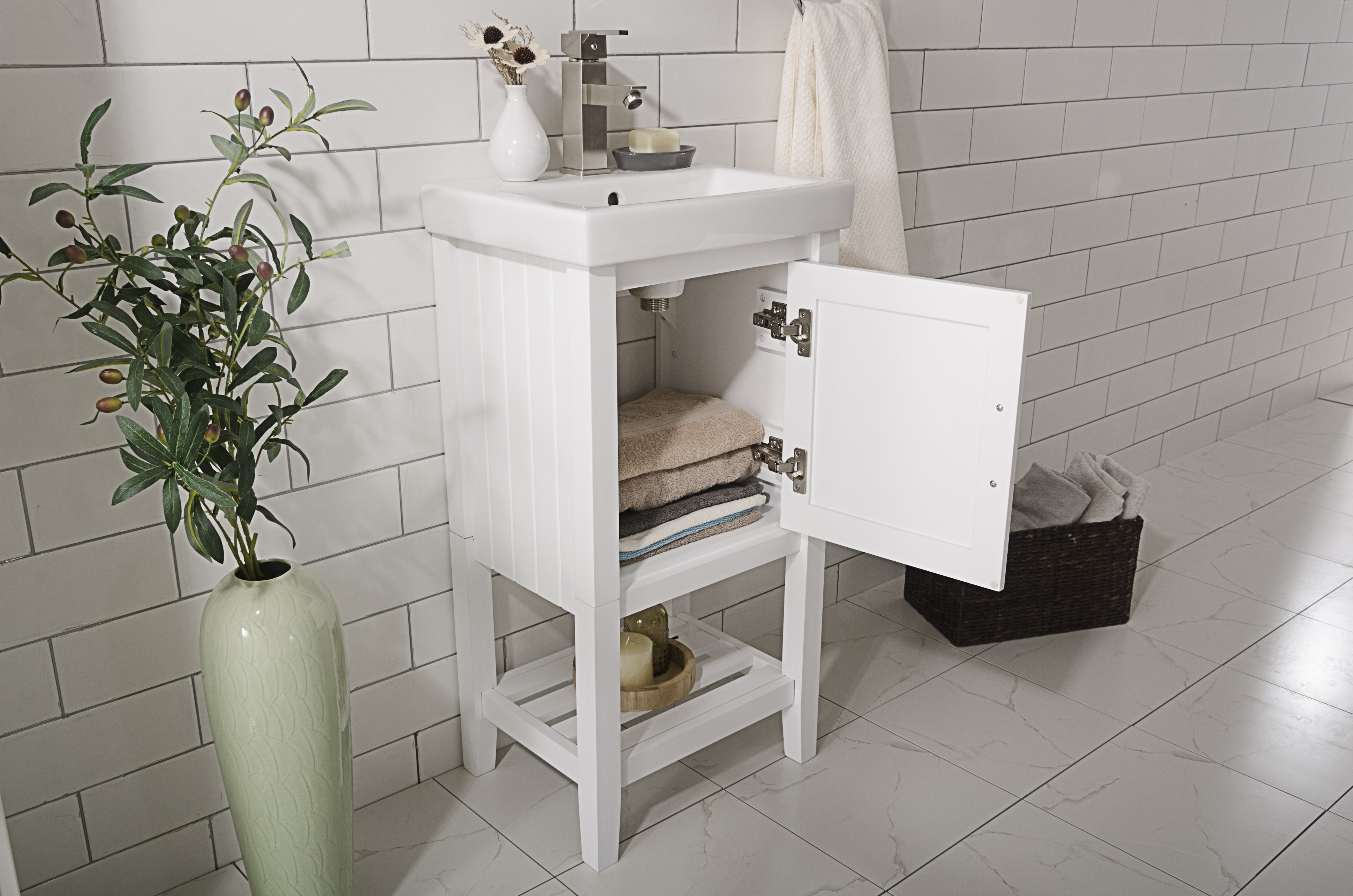 Legion Furniture 18-inch White Sink Vanity | eBay