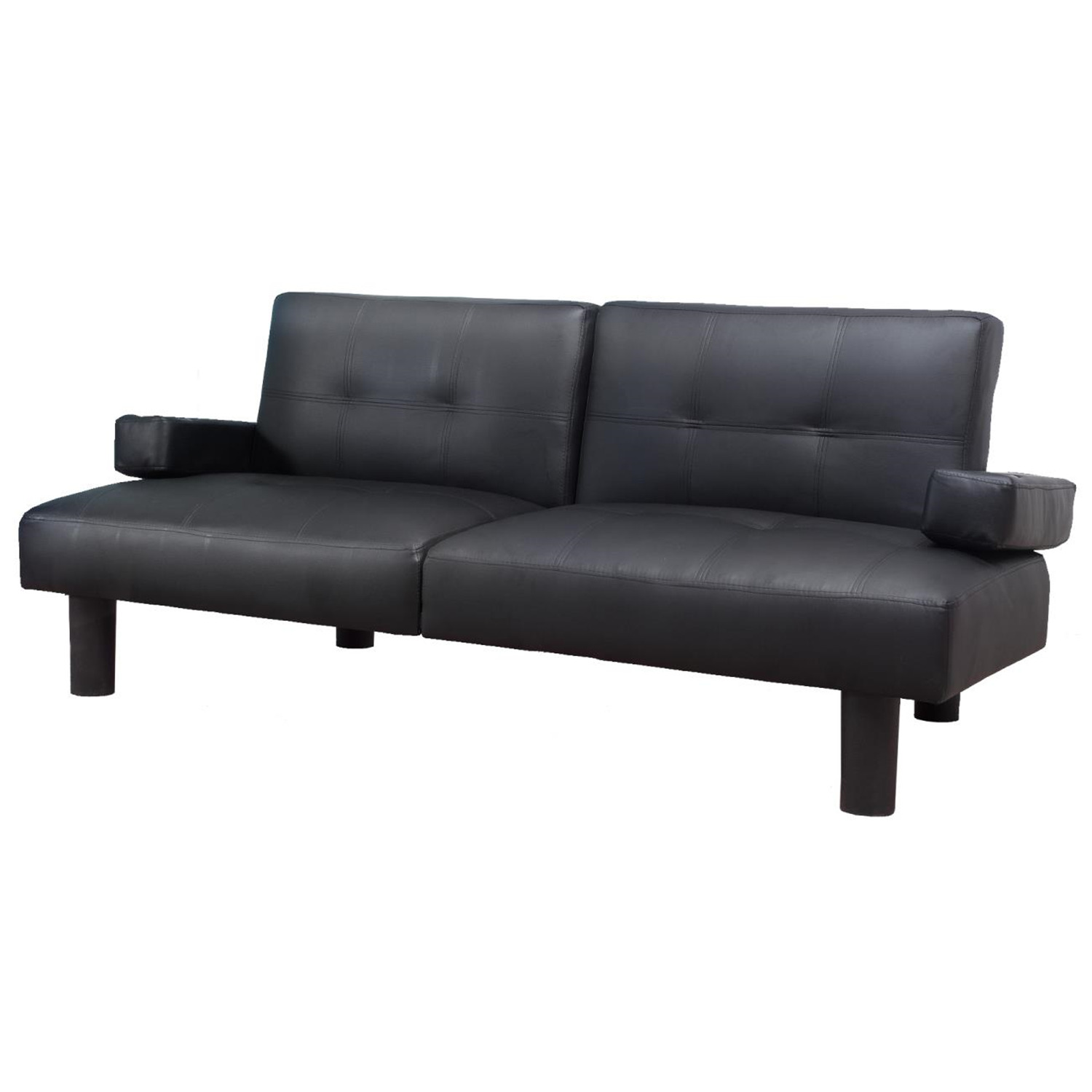 Faux Leather Sofa Bed Ojcommerce