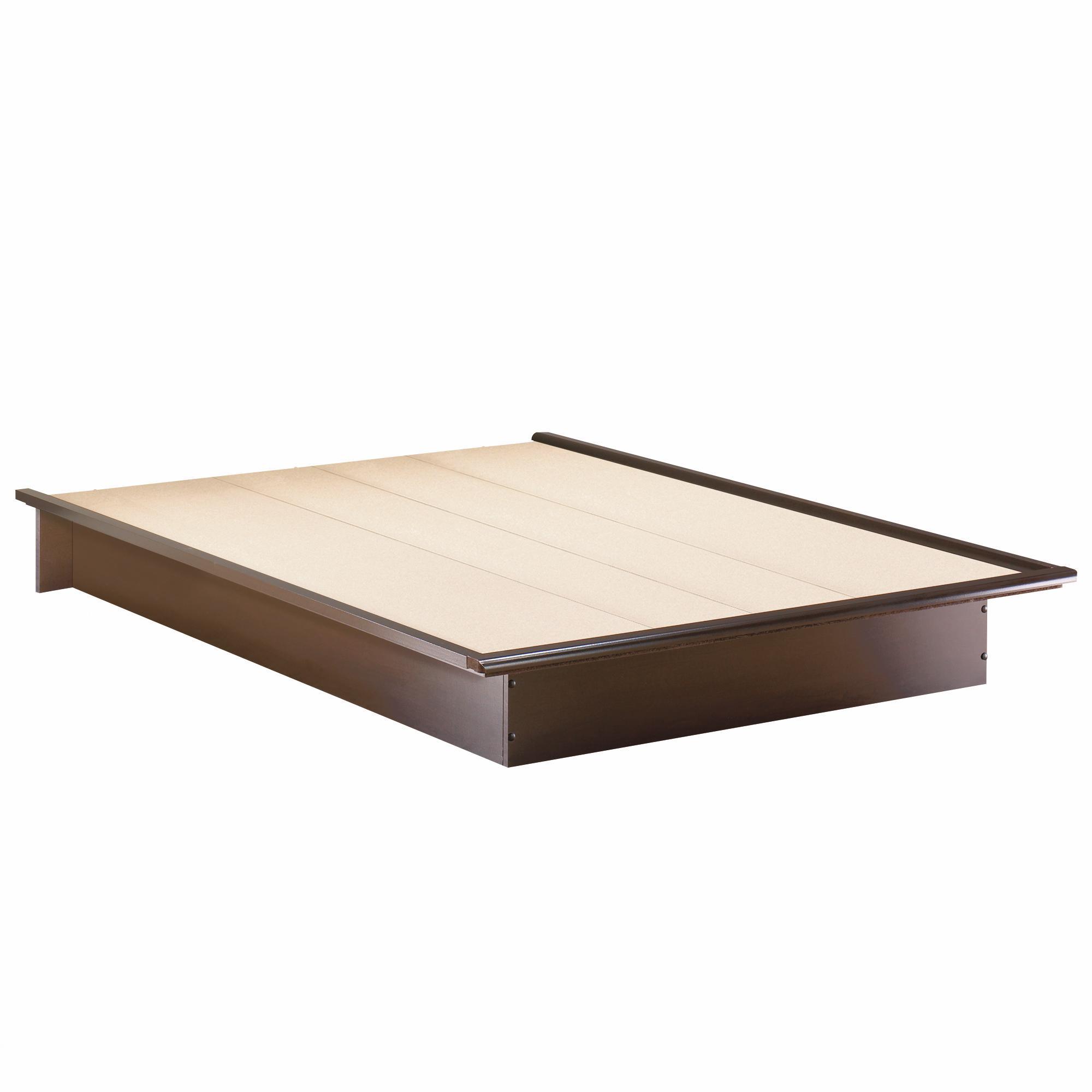south shore back bay queen platform bed 60 by oj. Black Bedroom Furniture Sets. Home Design Ideas