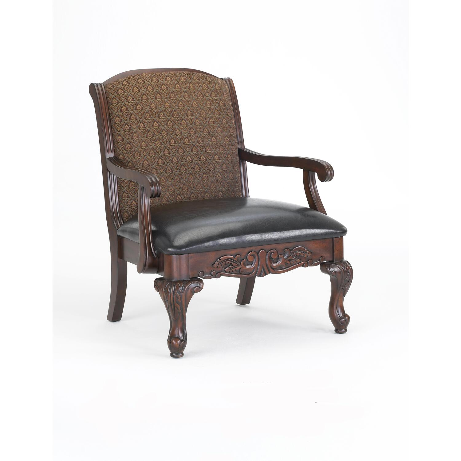 Traditional accent chairs - Liza Traditional Accent Chair 3177liza