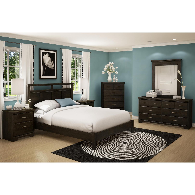 Versa queen 7 piece bedroom set ojcommerce 7 piece queen bedroom furniture sets