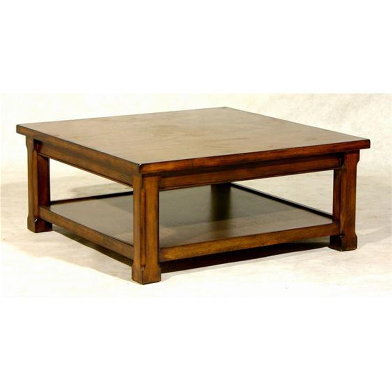 Low Black Square Coffee Table: Square Low Coffee Table