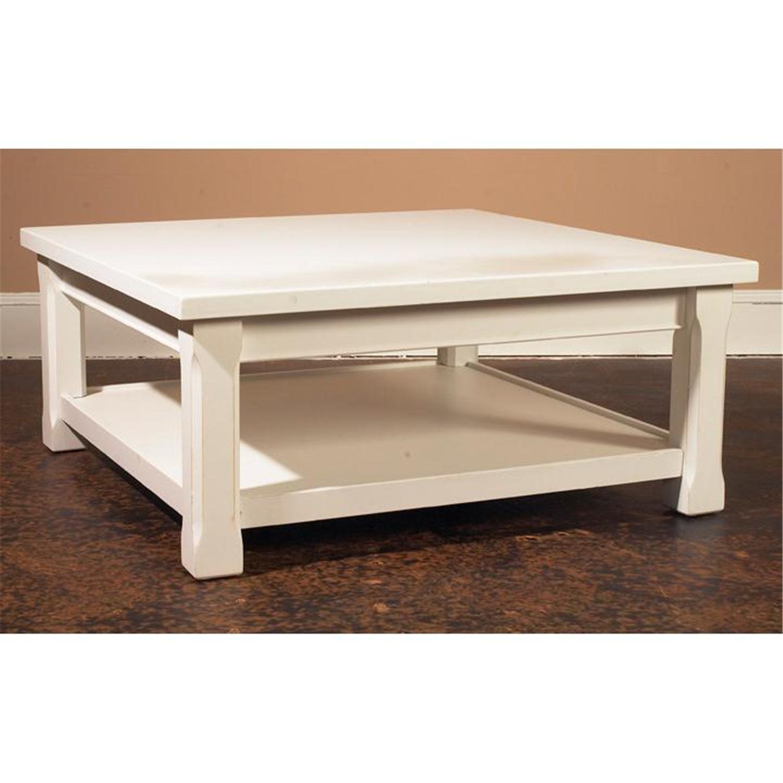 Low Coffee Table Square: Square Low Coffee Table