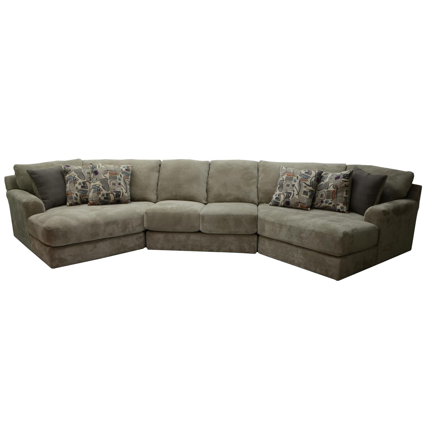 Malibu Small Piano Wedge Sectional Ojcommerce