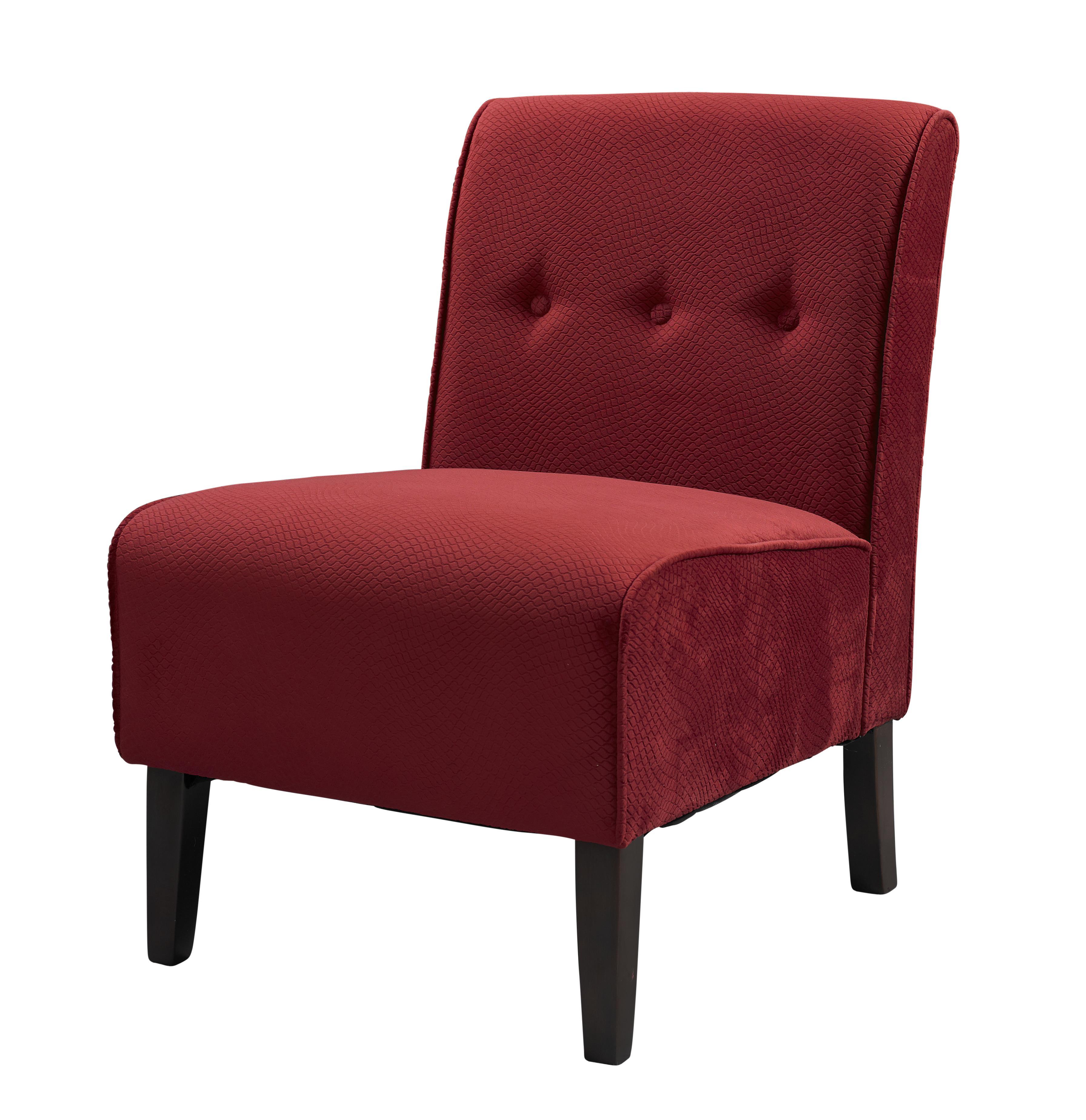 Linon COCO ACCENT CHAIR Red
