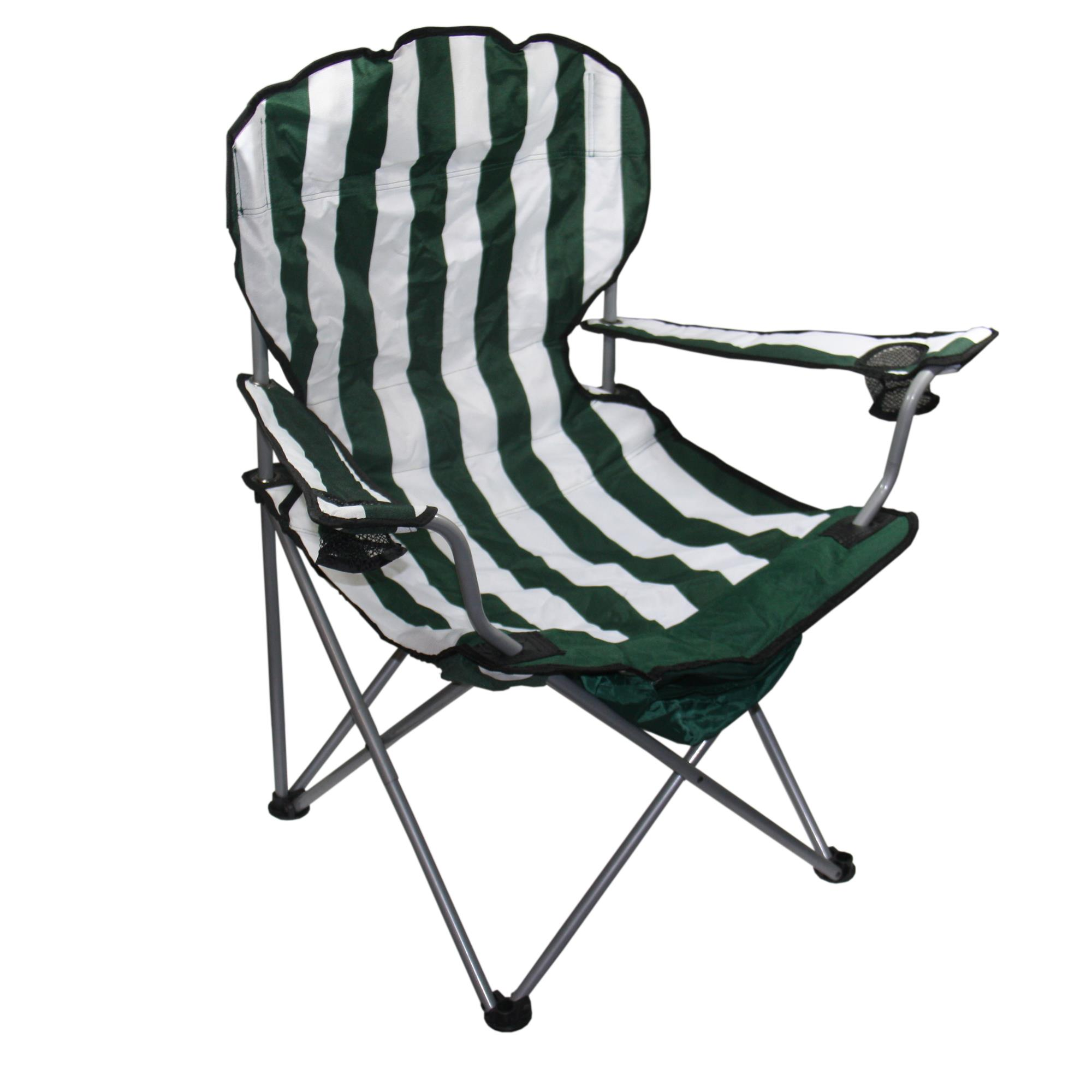 Green Stripe Folding Chair 43 99 Ojcommerce