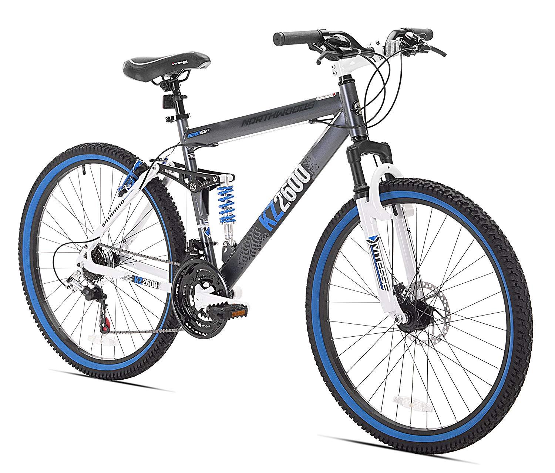 Kent Mens Thurster Mountain Black/blue Bicycle Frame Materia