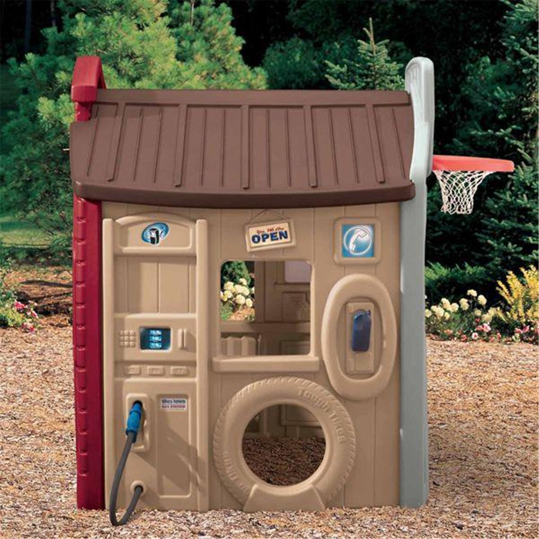 Endless adventures tikes town playhouse for Little tikes house