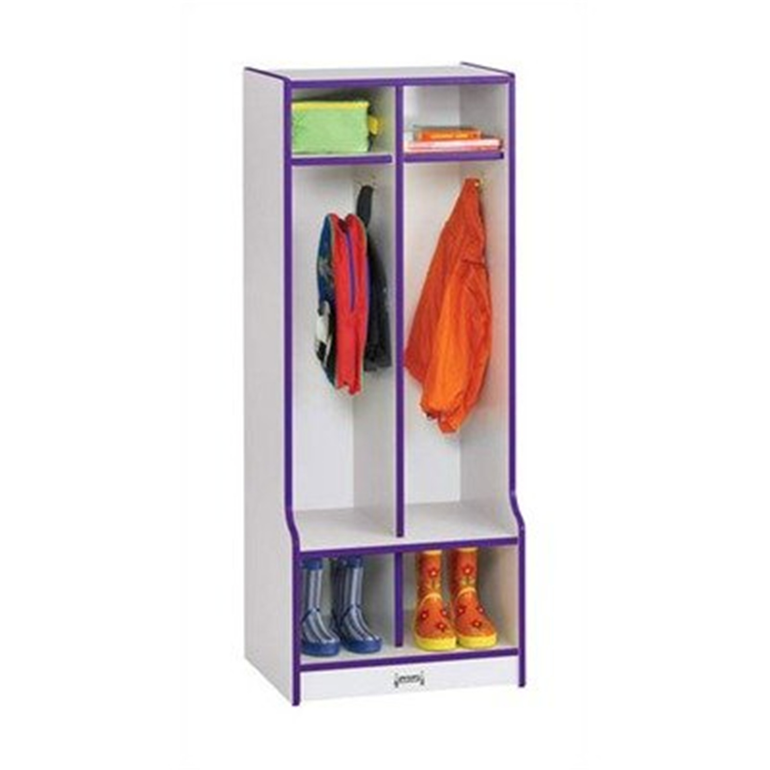 Double Locker W/step - 2 Sections - [4682JCWW008]