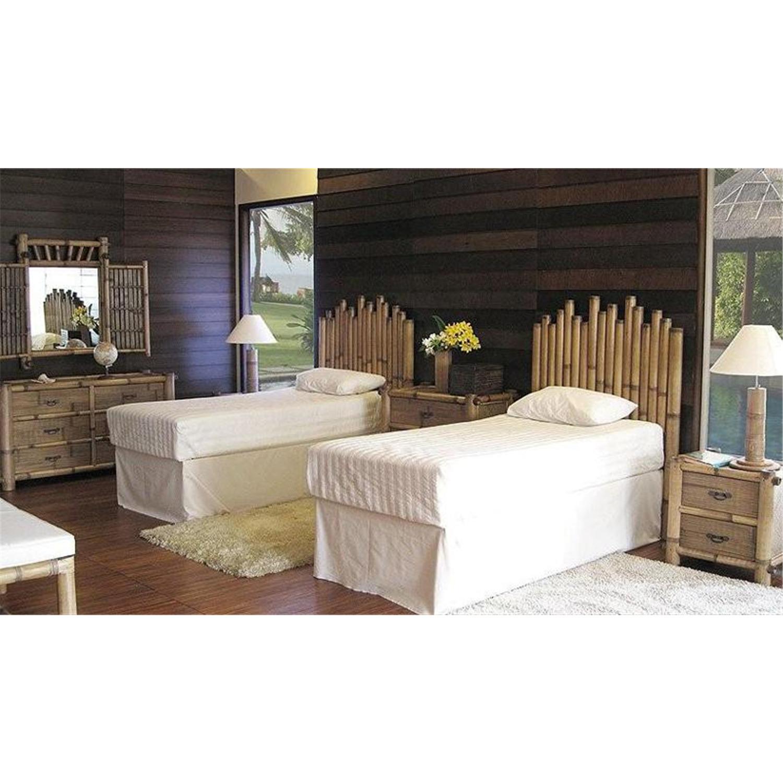 Havana bamboo bedroom set from to ojcommerce for Bamboo bedroom furniture sets