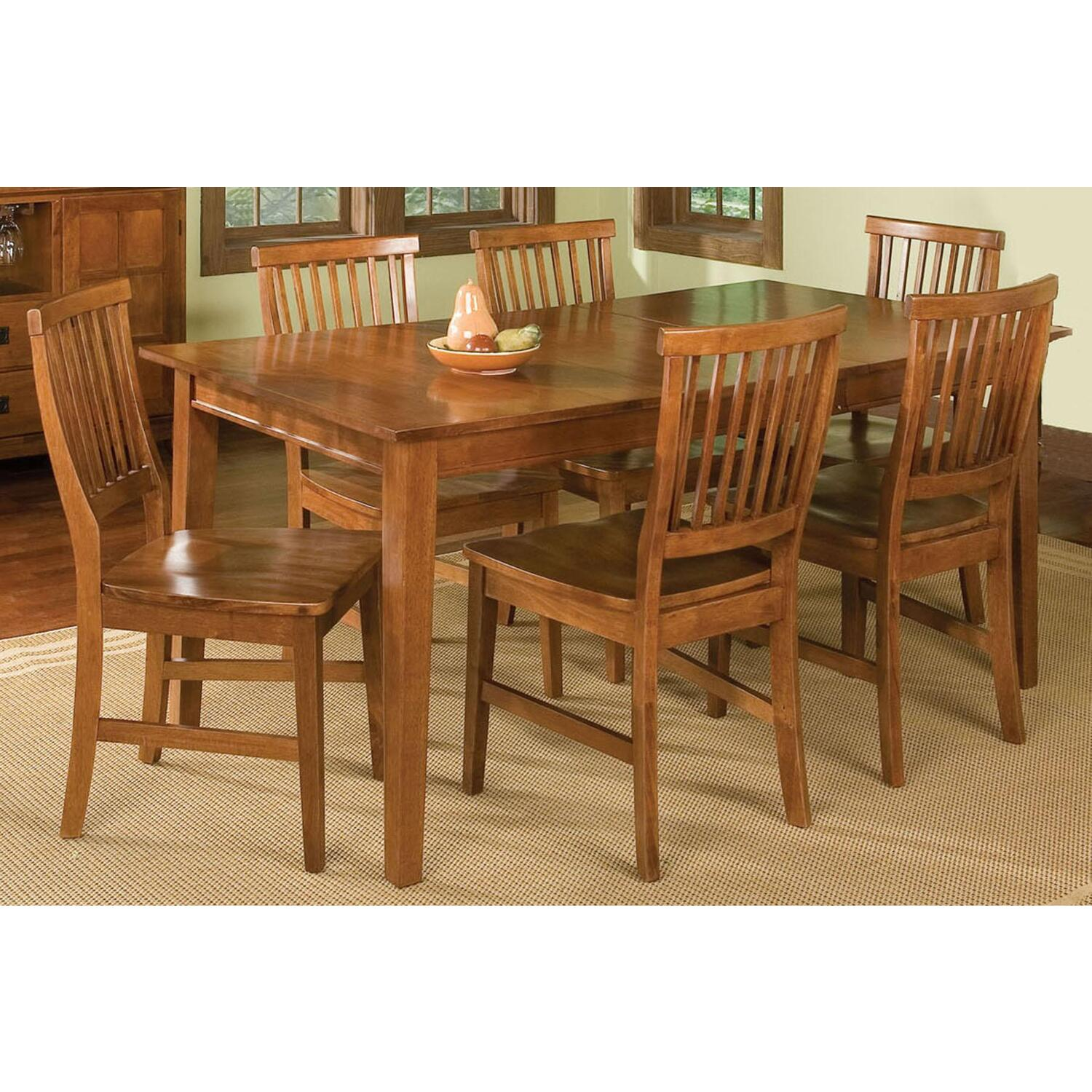 Home Styles 5180-319 Arts And Crafts 7 Piece Dining Set
