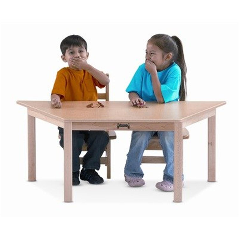 Multi-purpose Trapezoid Table - Maple - [53312JC]