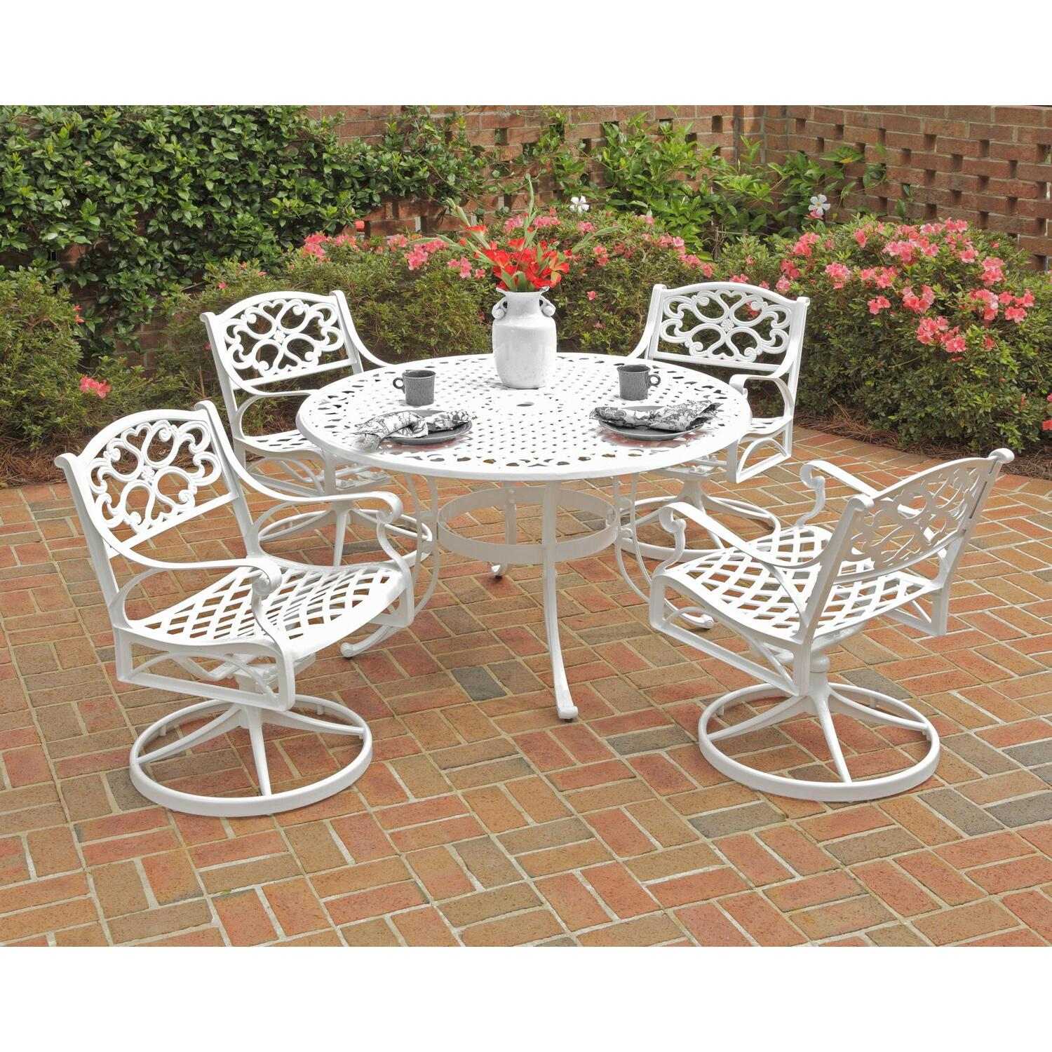 Home Styles Biscayne 5PC Dining Set 48