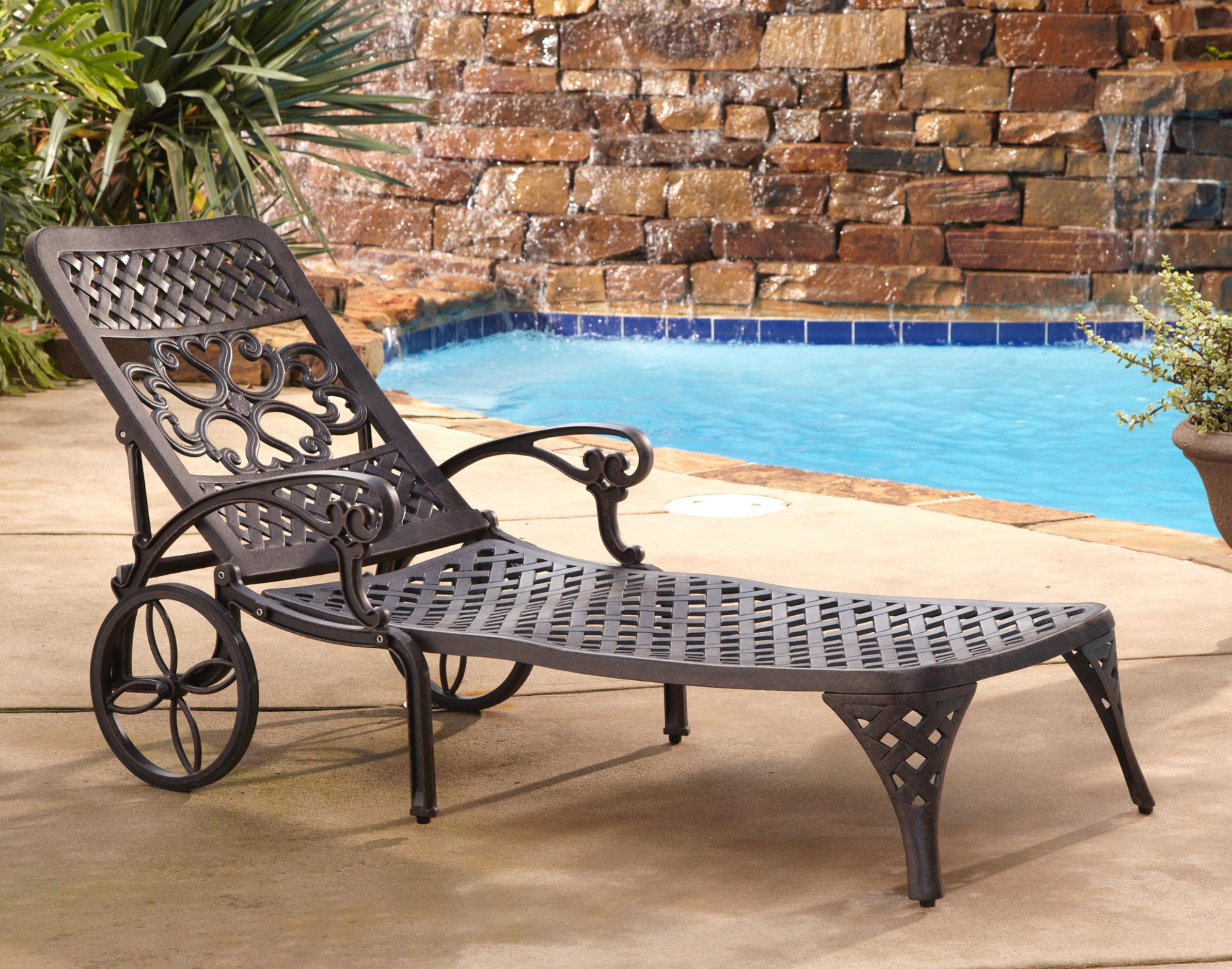 Biscayne chaise lounge chair ojcommerce for Chaise lounge band