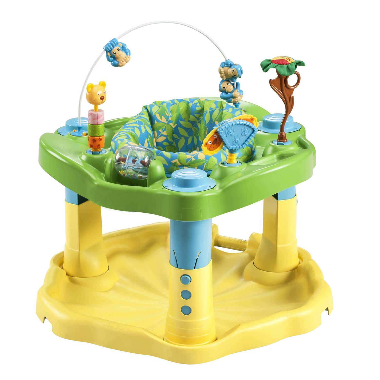 d2a883f14f4d Evenflo ExerSaucer Bounce   Learn – Beach Baby or Zoo Friends ...