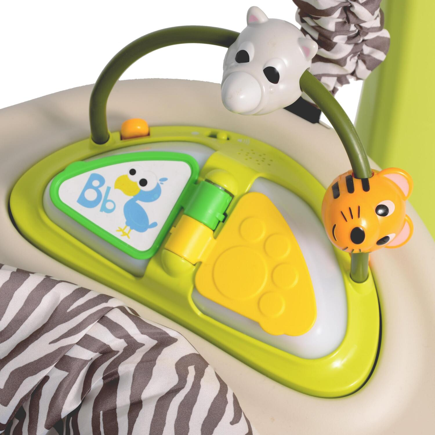 EVENFLO EXERSAUCER JUMP AND LEARN JUNGLE QUEST - YouTube