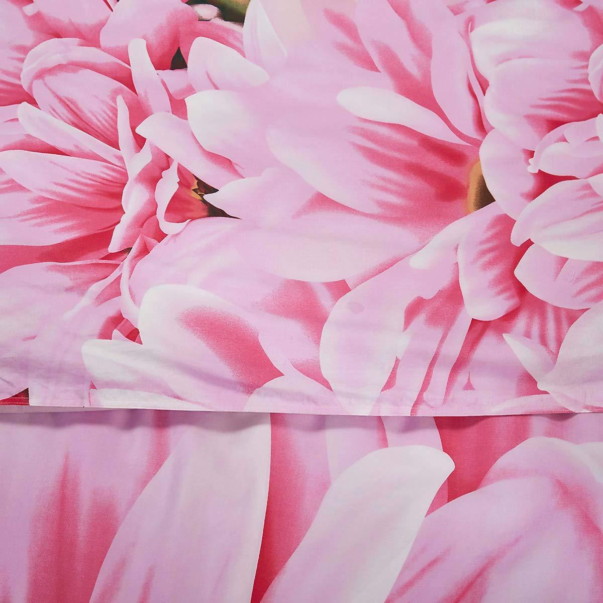 Kess InHouse Angelo Cerantola Jungle Lines Blue Pink Digital 23 x 23 Square Floor Pillow