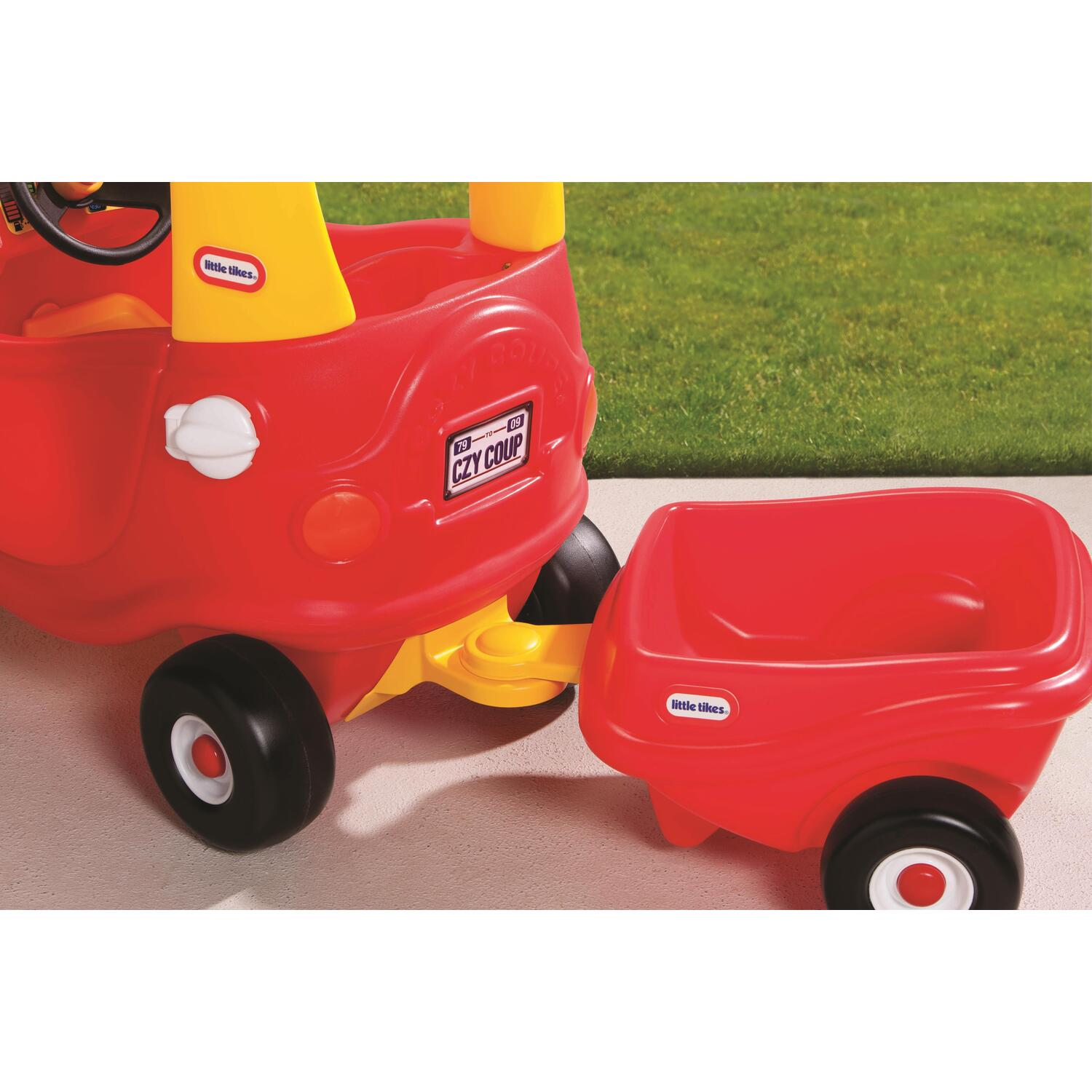 cozy coupe trailer