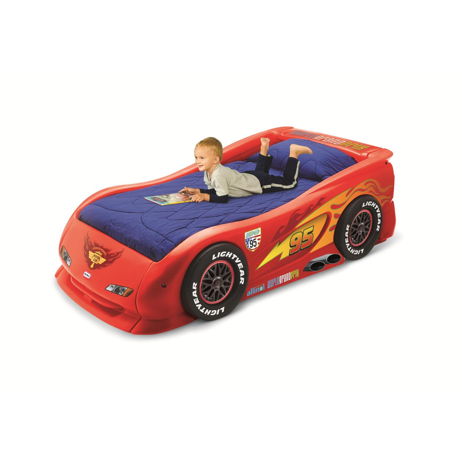 Lightning McQueen Sports Car Twin Bed