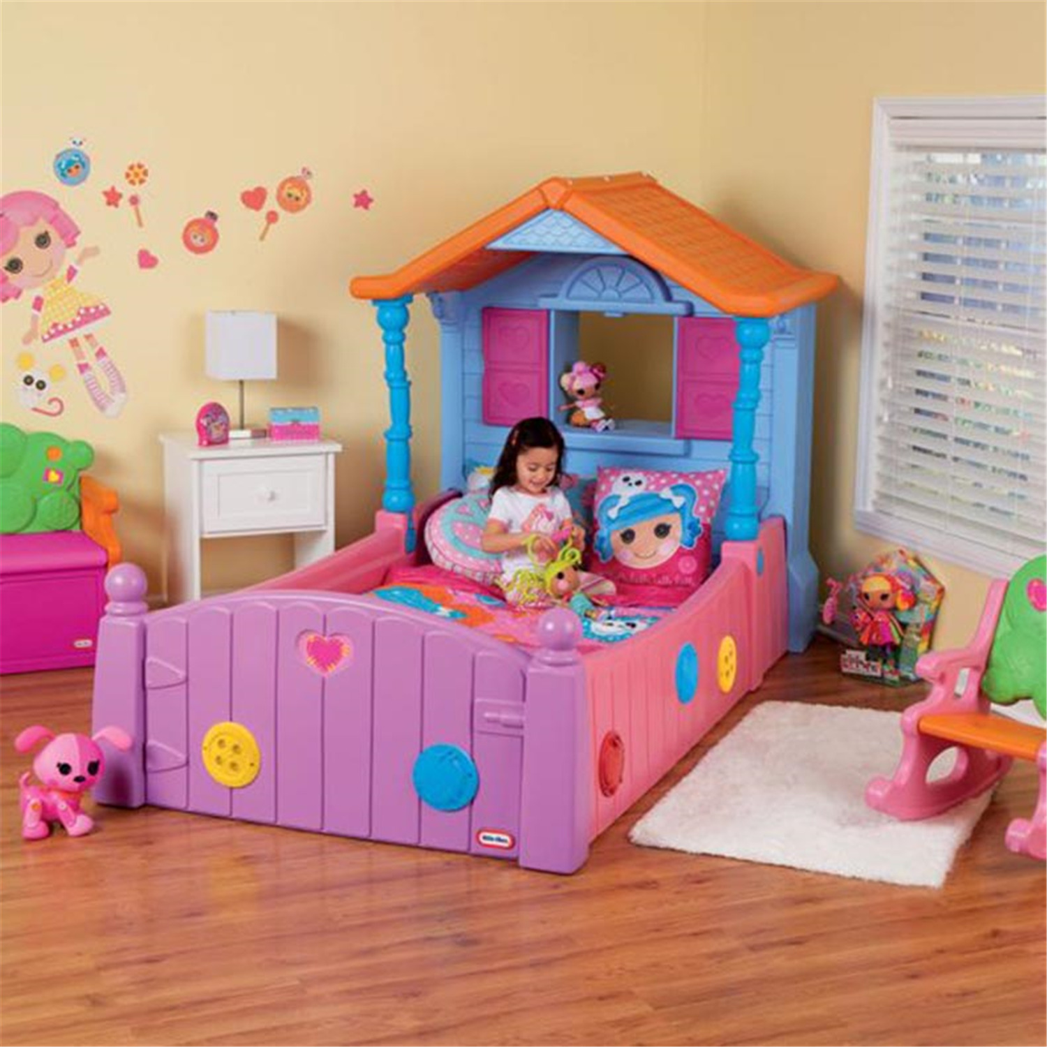 Little Tikes 631863m Little Tikes Lalaloopsy Twin Bed