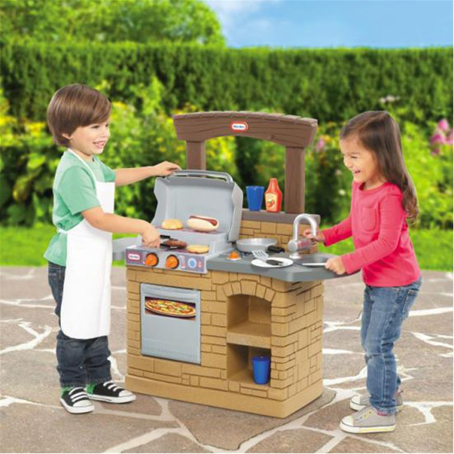 Furniture home goods appliances athletic gear fitness for Home goods outdoor kitchen