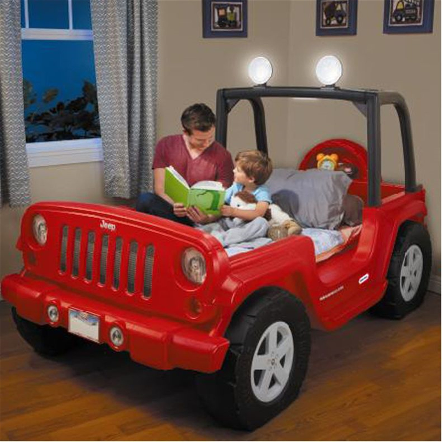 Little Tikes Jeep Wrangler Toddler To Twin Bed 480 40