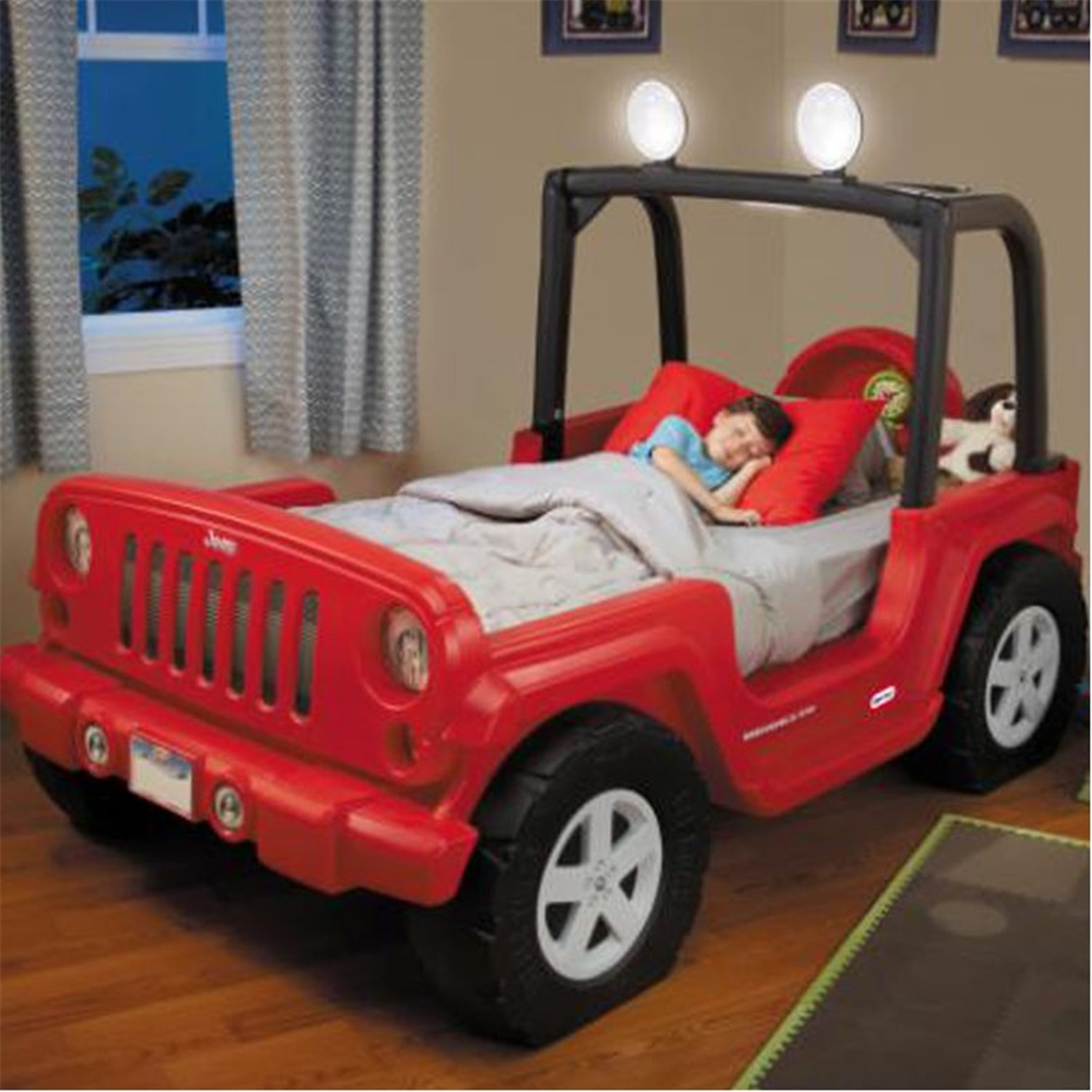 Little Tikes Jeep Wrangler Toddler To Twin Bed Ojcommerce