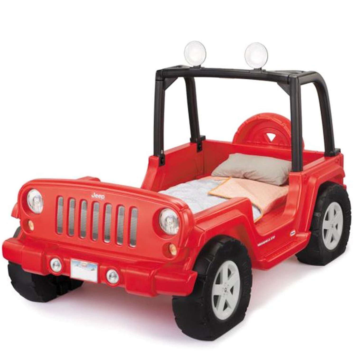 Little Tikes Jeep Wrangler Toddler to Twin Bed - $480.40 ...