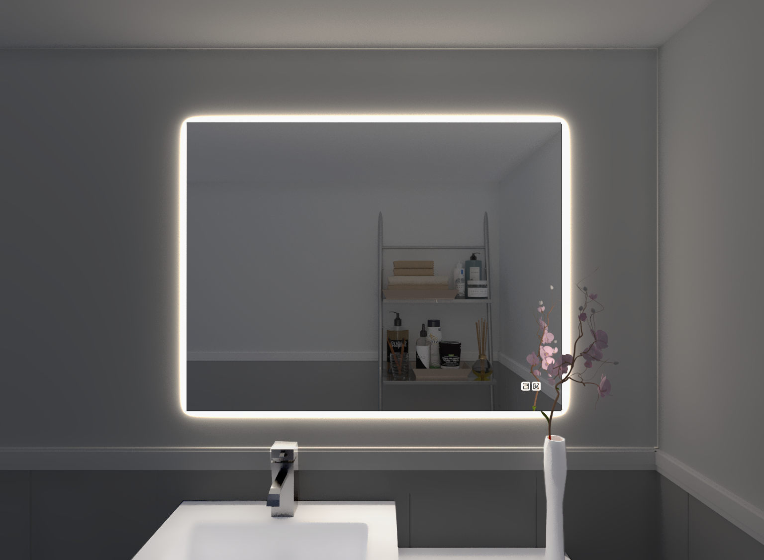 Led Mirror Bathroom Ojcommerce